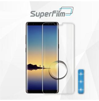 슈퍼필름 갤럭시 노트9 액상 풀점착 4D 강화유리 필름