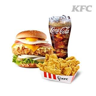 [KFC] 신메뉴 커넬골드문버거 세트메뉴 최대 48% 할인