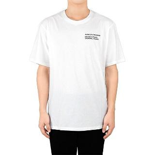 SK stoa 20 FW 몽클레어 프레그먼트 티셔츠 로고 화이트 8C708108392B001 8C7.. - 행복한 쇼핑  SK스토아