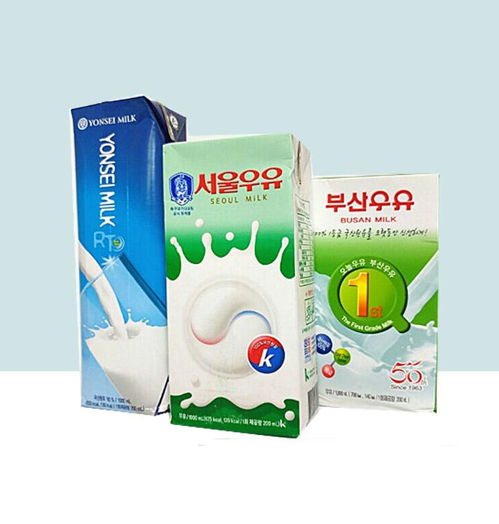 부산 연세 서울 멸균우유