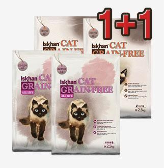 1+1 이즈칸 고양이 사료