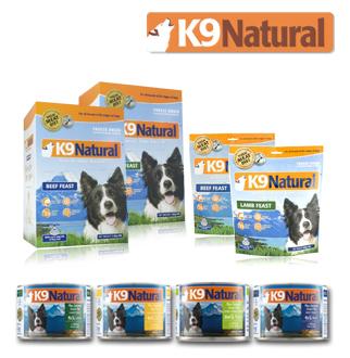 K9 강아지 생식 사료&캔