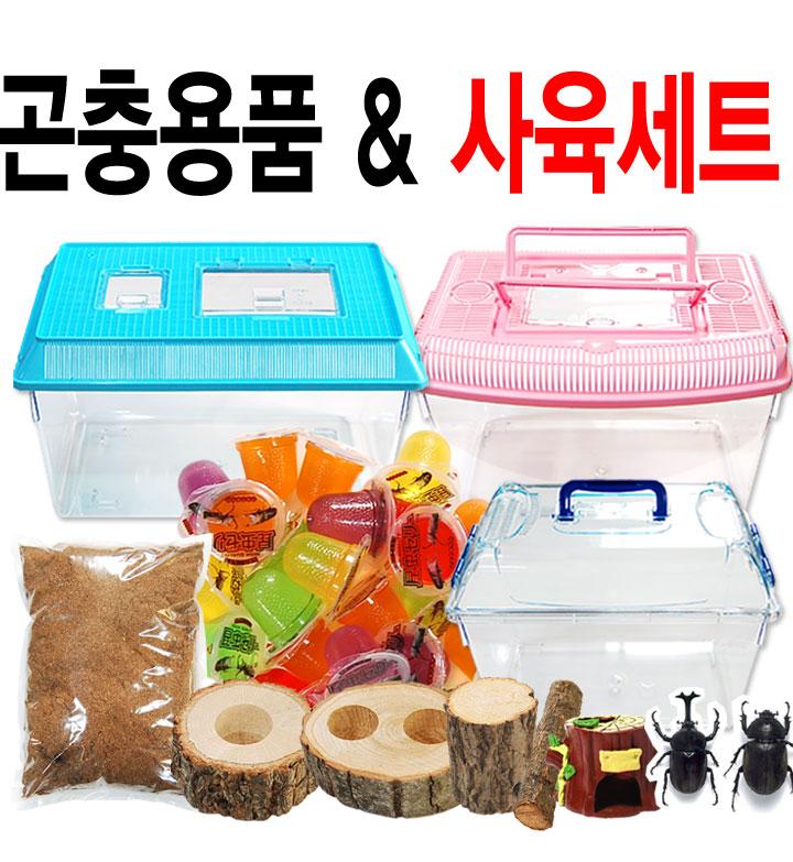 곤충사육세트/먹이/용품
