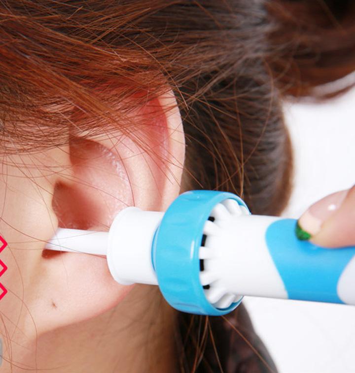 진동 흡입 귀청소기