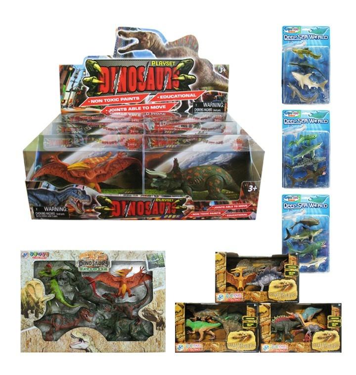 교육용피규어 공룡동물해양모음