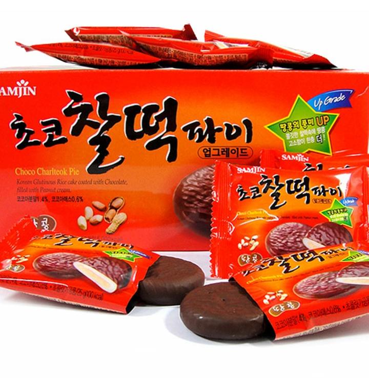 삼진 찰떡파이(50입) 1통