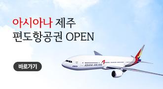 아시아나 제주 편도항공권